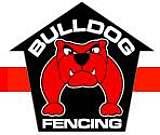 The Bulldog Fencing Logo